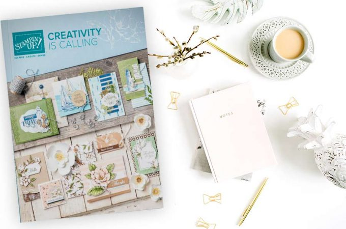 "2019-2020 Stampin"" Up! Annual Catalog"