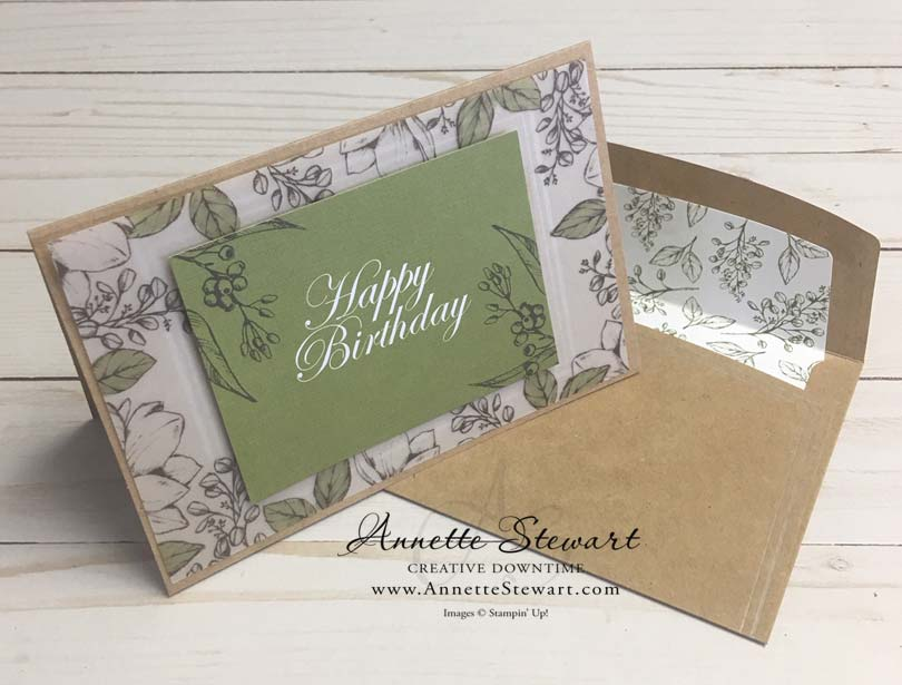 Magnolia Lane Card - Happy Birthday