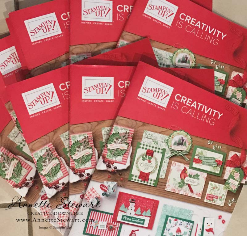 2019 Stampin' Up! Holiday Catalogs
