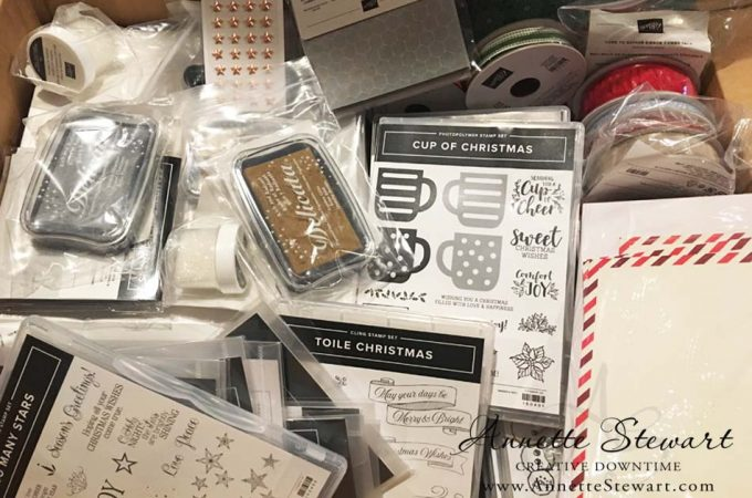 Stampin' Up! Pre-Order unboxed