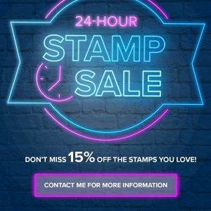 24-Hour Stamp Sale