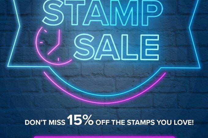 24-Hour Stamp Sale