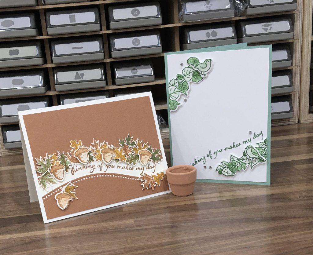 Curvy Card Samples